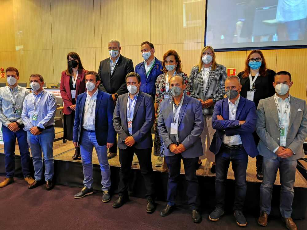 Comisión ejecutiva elegida en el octavo congreso de upa andalucia